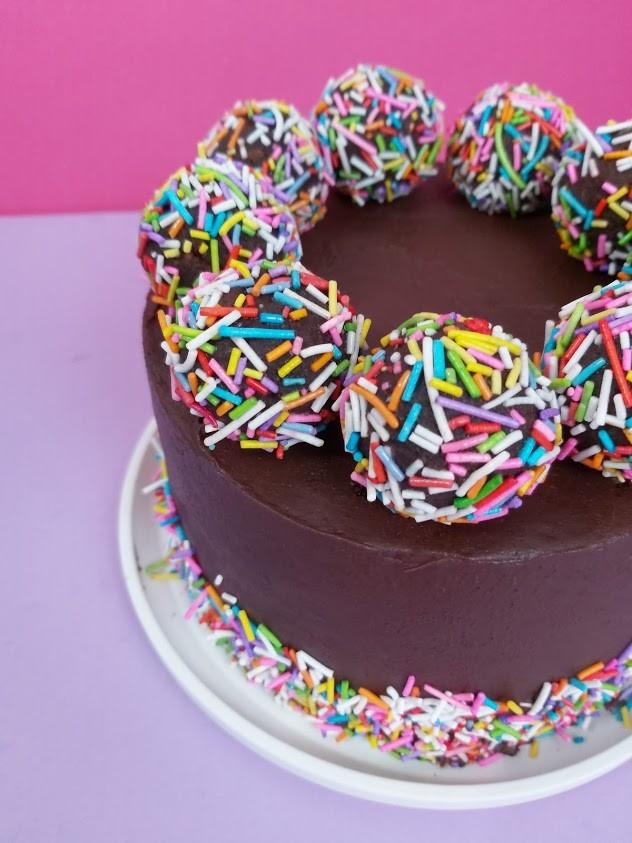 Birthday Bonbons Cake