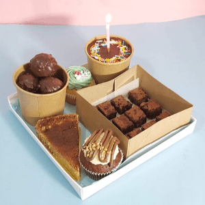 Desserts Box for two