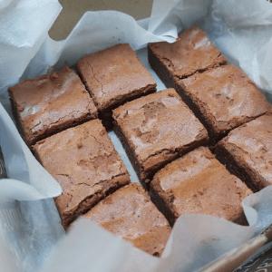Petite brownie box