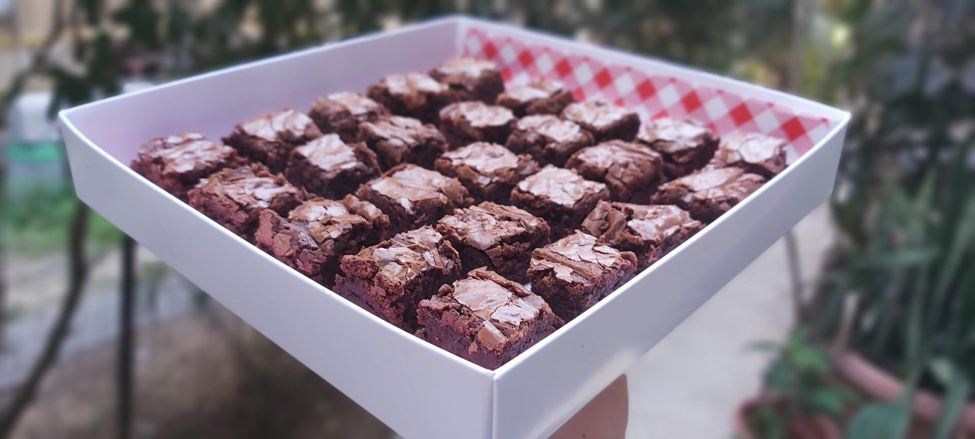 Party size brownie box