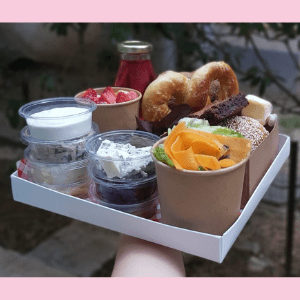 Brunch box for one