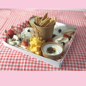 Cheeses & Crackers Box for one